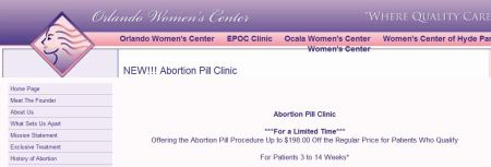 Regular abortion patient coupon