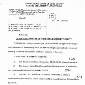 Tonya REaves PP ILl Lawsuit