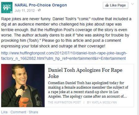 Tosh Rape