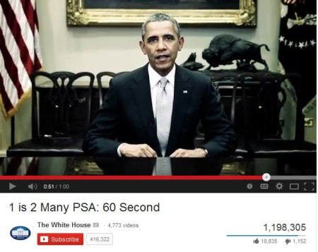 President Barack Obama i anti-rape PSA