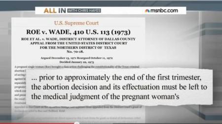 Roe Abortion is Docs Decision