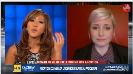 CNN Panelist GIving Birth