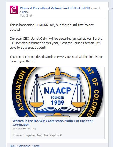 PP CEO speaks at NAACP