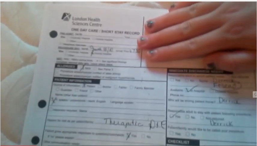 """8 Point Socket >> Woman Posts Video of Her Abortion Records Along With Ultrasound Picture of """"My Baby"""" 