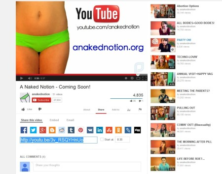 A Naked Notion 2 Planned Parenthood Laci Green