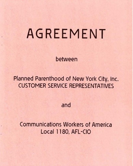 AFL-CIO and Planned Parenthood New York