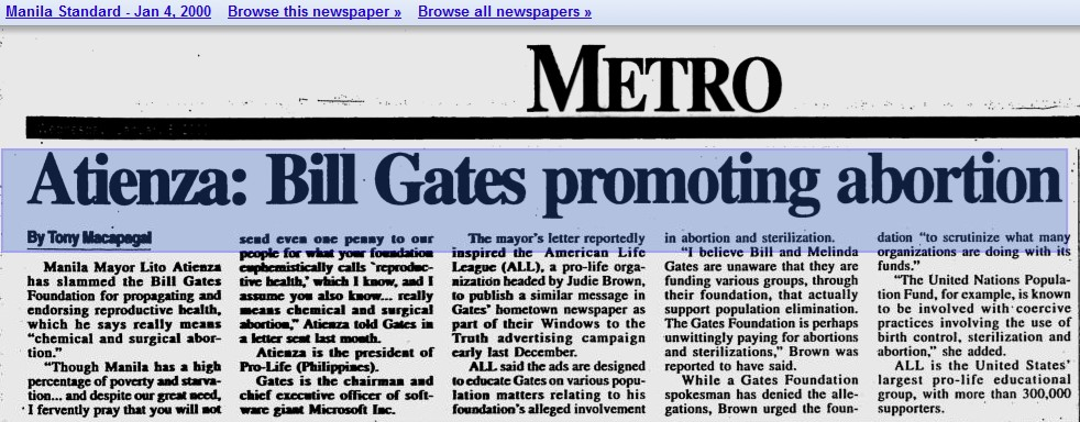 Bill gates saynsumthns blog articles accuse gates of promoting abortion expocarfo Gallery