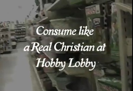Consume like a real Christian