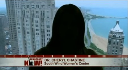 Cheryl Chastine Democracy Now Shadow pic 2