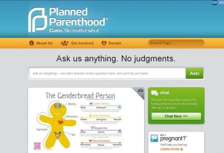 Genderbread Planned Parenthood