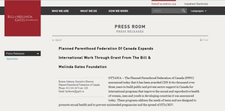 IPPF Canada Gates