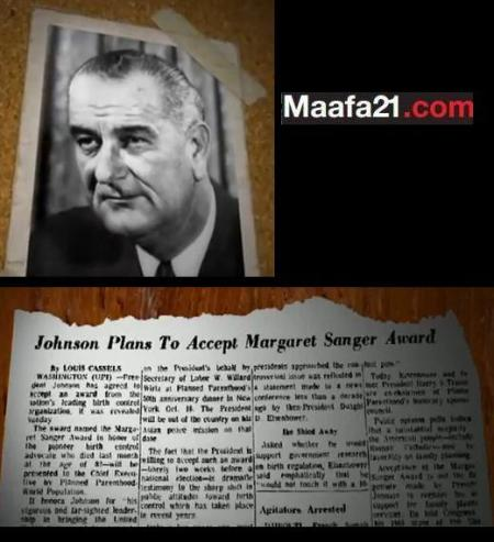 LBJ and Planned Parenthood