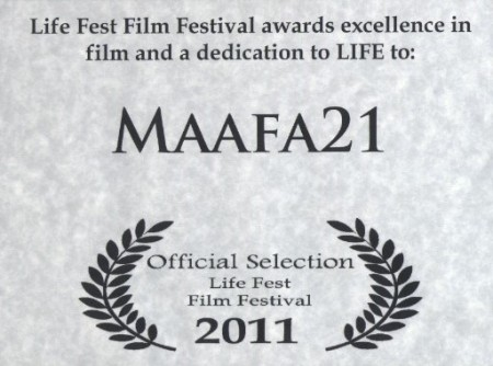 Maafa21 Life Fest 2011 Use