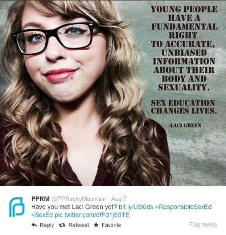 PP and Laci Green 2014