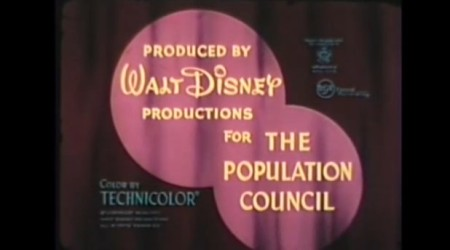 Walt Disney and Population Council