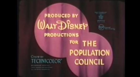 Walt Disney and Population Council
