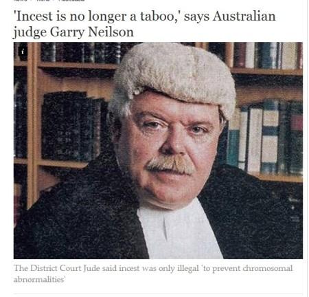 Australian Judge Incest