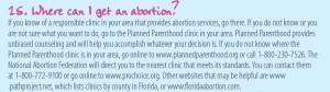 Get abortion