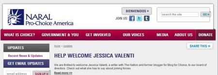 NARAL Jessica Valenti