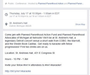 PP Netroots Events