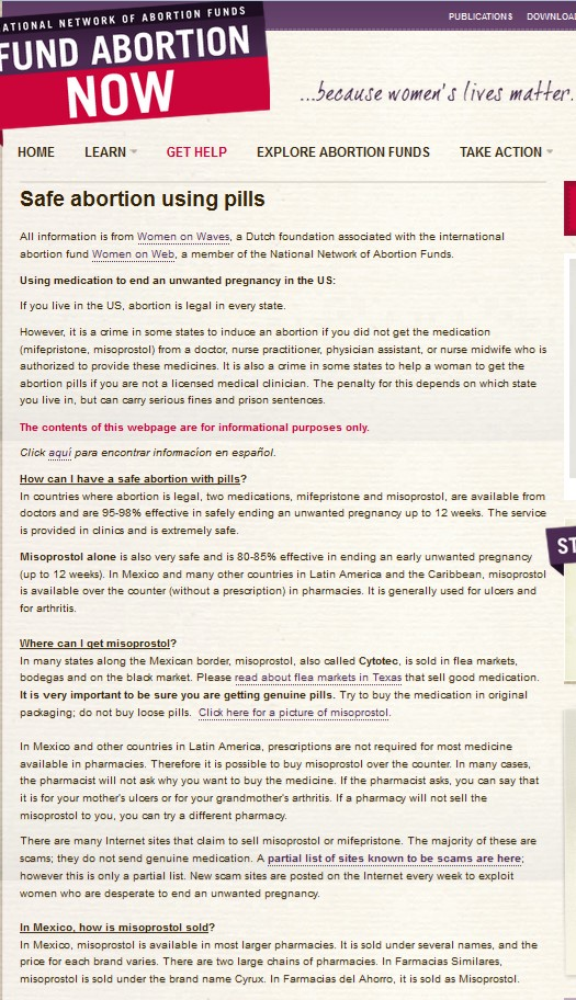Abortion Pill Saynsumthns Blog Page 2