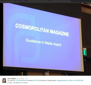 Cosmo 2014 Maggie Awards