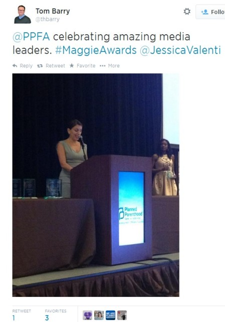 Jessica Valenti Maggie Award