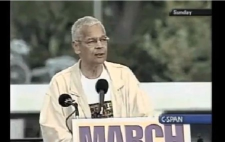 Julian Bond March for WOmen