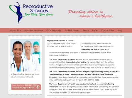 Reproductive Abortion Clinic El Paso