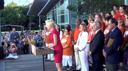 Wendy Cecile Richards Rally