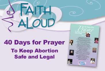 40days of prayer -faith-aloud