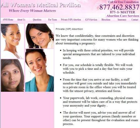 All womens pavilion VIP
