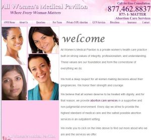 All womens pavilion