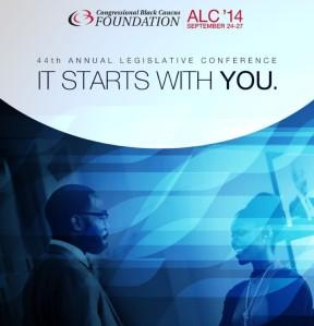 Black Caucus 2014 events brochure