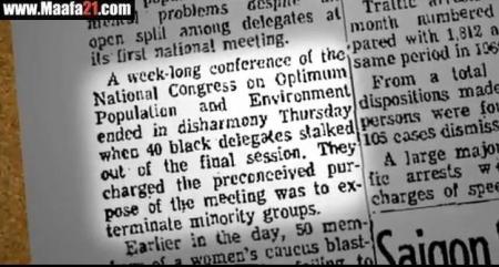 Black Caucus walks out of pop conf
