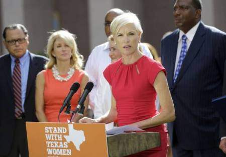 Cecile Richards Wendy Davis