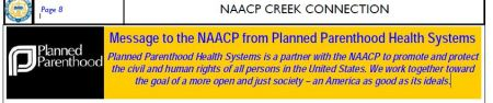 NAACP letter from PP