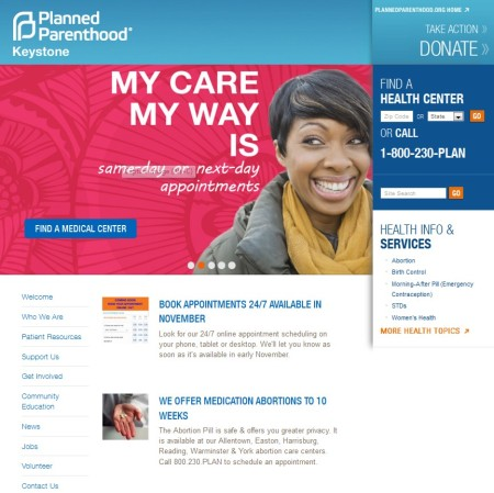 Planned Parenthood medication abortion