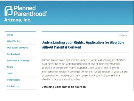 PP Application for ab wo parental consent