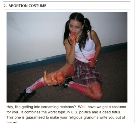 Abortion Costume Halloween