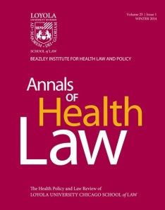 Anals of Health law