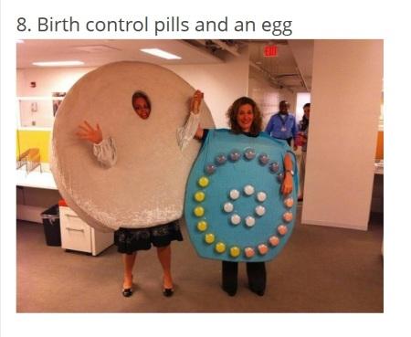 Birth Control and Egg Halloween