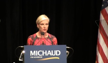 Cecile Richards Mike Michaud oct 2014