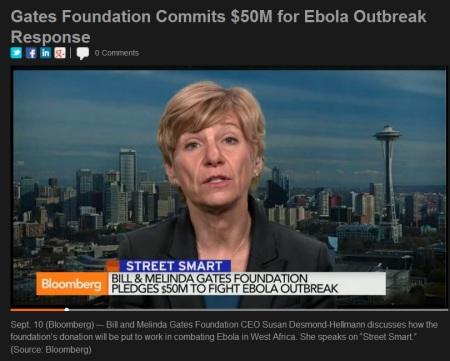 Gates Susan Desmond-Hellmann Ebola