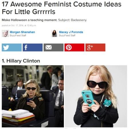 Hillary Buzzfeed Halloween