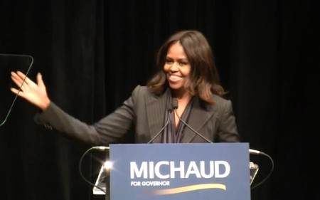 Michele Obama Mike Michaud