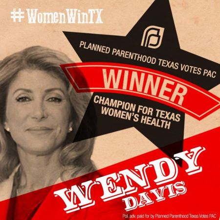 PP Wendy Davis Oct 2014 820414097978889_5738724534666717184_n