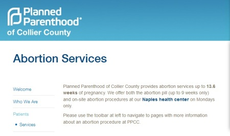 PP Collier COunty Abortions