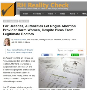 RH Reality Rogue Brigham abortion July 2013