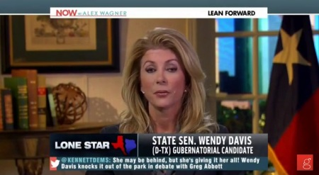 Wendy Davis MSNBC NOW